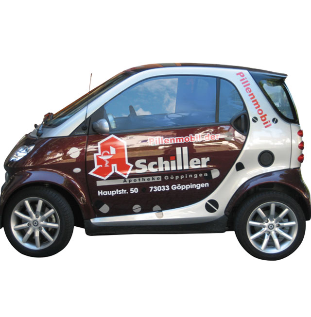 On Tour - unser Pillenmobil